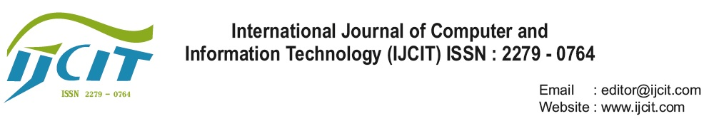 International Journal of Computer and Information Technology (IJCIT)